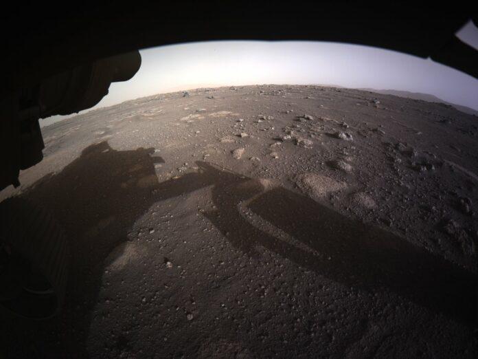 Nasas Rymdsond landar på Mars