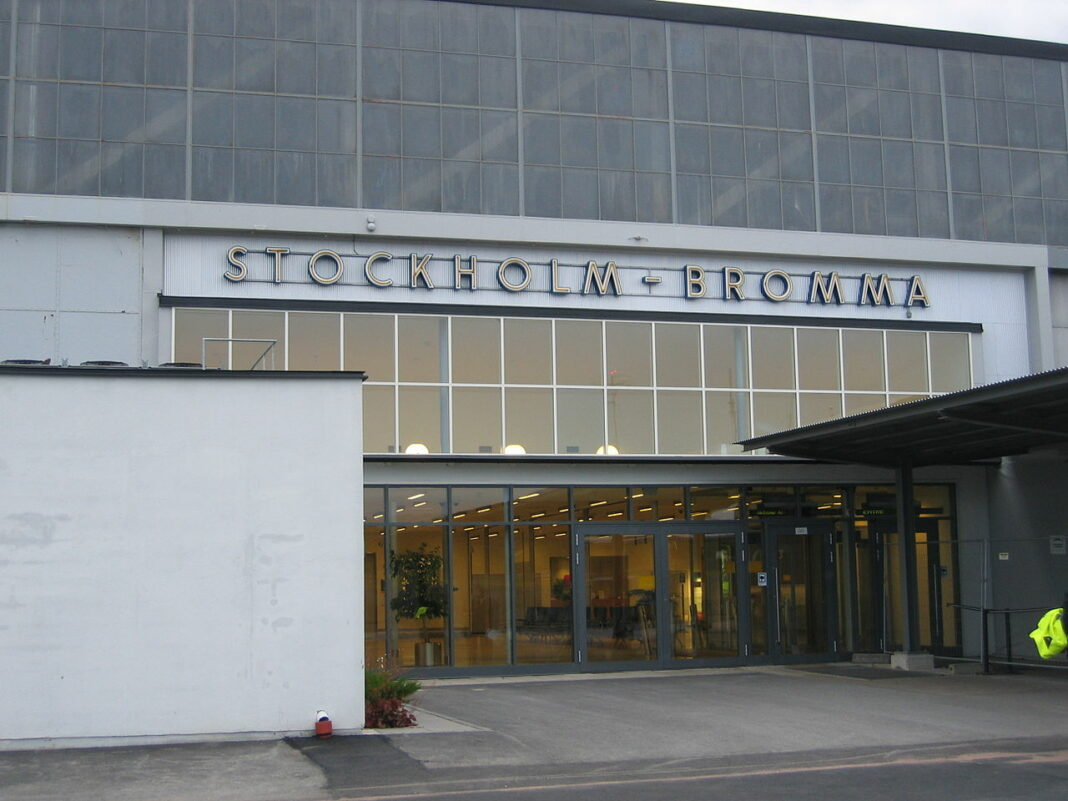 Bromma - flygplats - inrikes